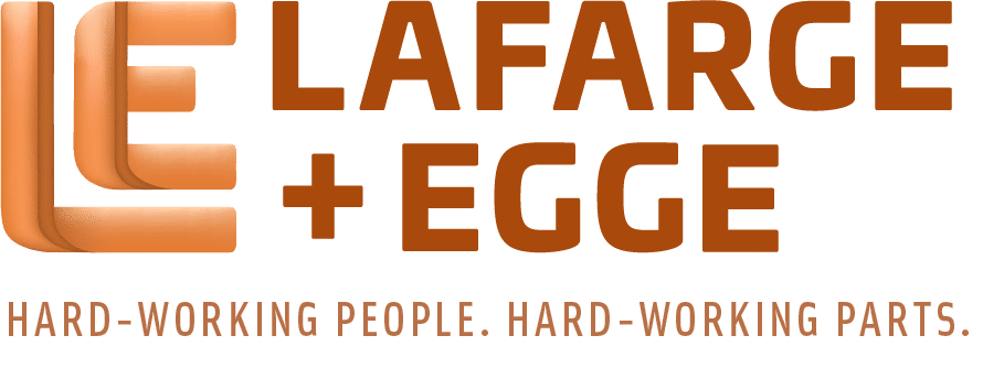 Lafarge and Egge logo with tagline